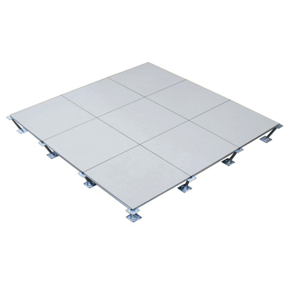Steel raised floor with anti-static ceramic